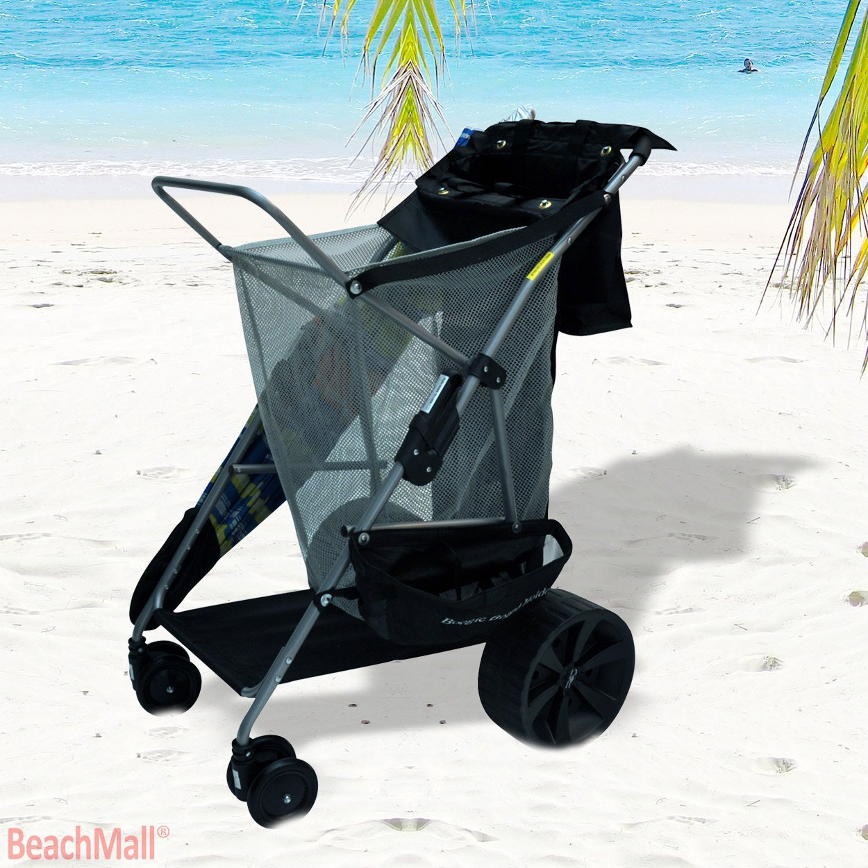 big wheel beach cart