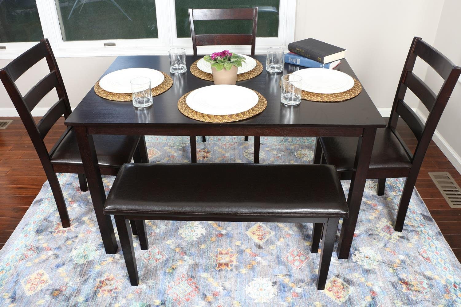 Best dining room table with bench seat