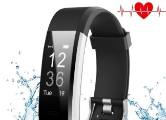 Best Fitness Tracker With Heart Rate Monitor And Waterproof