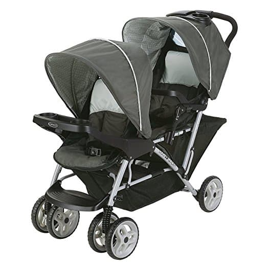 best double stroller for baby and toddler